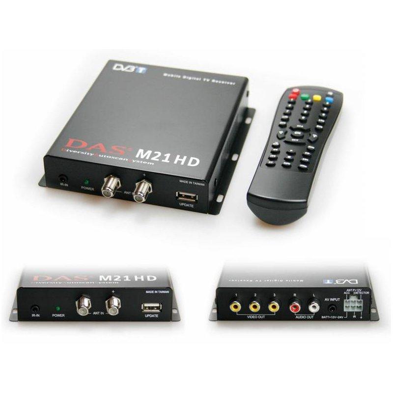 DINTONIZADOR DVB-T MPEG2/4-HD.DAAS DIVERSITY-AUTO USB