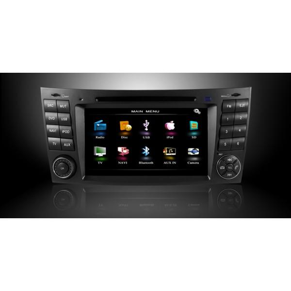 NAV. MERCEDES E W211 GPS,BT,DVD ,DIVX