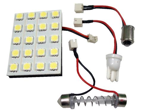 PLACA 20 LED BALNCOS 50*35MM